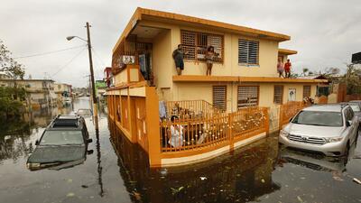 Minuto a minuto: Puerto Rico sigue bajo alerta de inundaciones por el huracán María y gran parte de la isla incomunicada