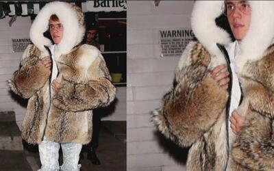 El 'look' de la semana de lo llevó Justin Bieber vestido como un esquimal