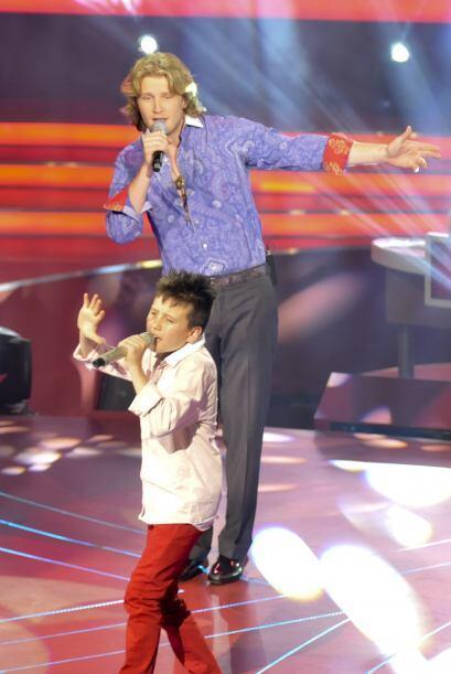 """Los dos cantantes interpretaron el reconocido éxito """"Te Amo"""", por el cua..."""