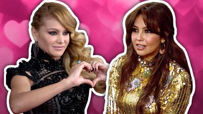 ¿Thalía y Paulina Rubio ya son amigas?, este mensaje podría confirmarlo (ya hasta se 'guasapean')