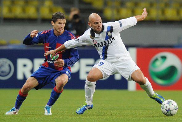 El Inter visitó al CSKA de Moscú en un duelo lleno de emociones.