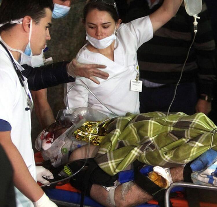 Imágenes del accidente aéreo del Chapecoense de Brasil