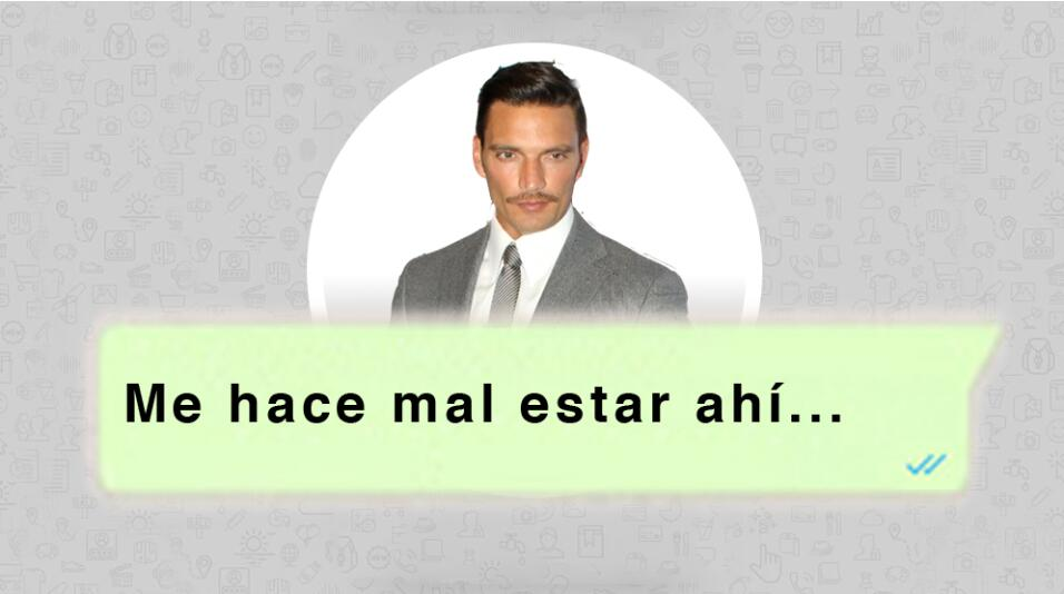 Estos mensajes de texto relatan por qué  Julián Gil dejó a Marjorie de S...