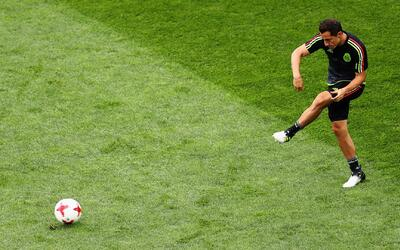 """Andrés Guardado: """"Estamos pensando en ganar y en no dejar dudas en la ca..."""