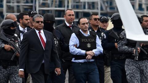 El exgobernador de Quintana Roo, Roberto Borge, es extraditado a M&eacut...
