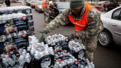 Flint Michigan crisis agua