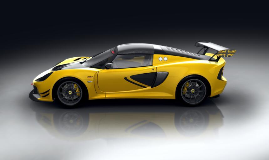 Lotus mostró públicamente las primeras imágenes del nuevo Exige Race 380...