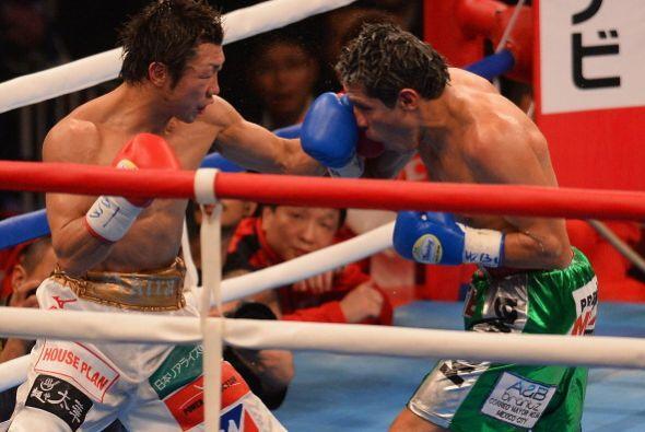 El monarca japonés impuso su velocidad y precisión de golpeo para ir gan...