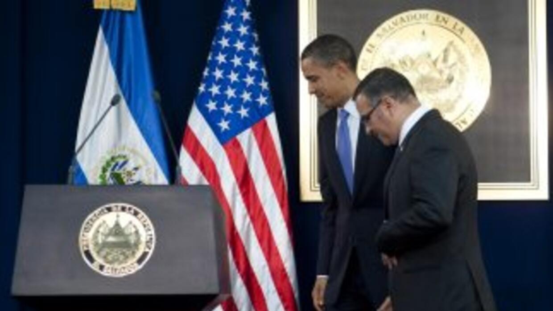 El presidente de Estados Unidos, Barack Obama concluyó en El Salvador su...