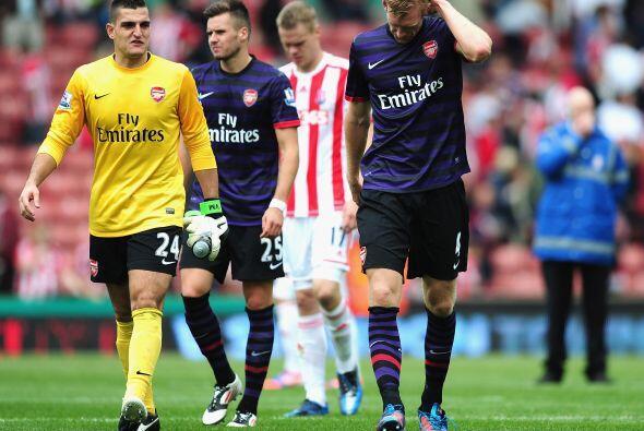 No hubo más tiempo, Stoke City y Arsenal repartieron puntos al ig...