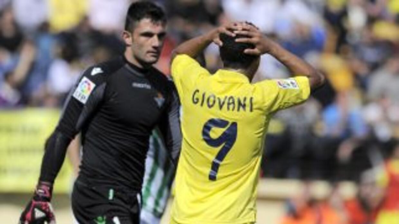 Giovani se quedó cerca de darle otro gol al 'Submarino Amarillo', pero l...