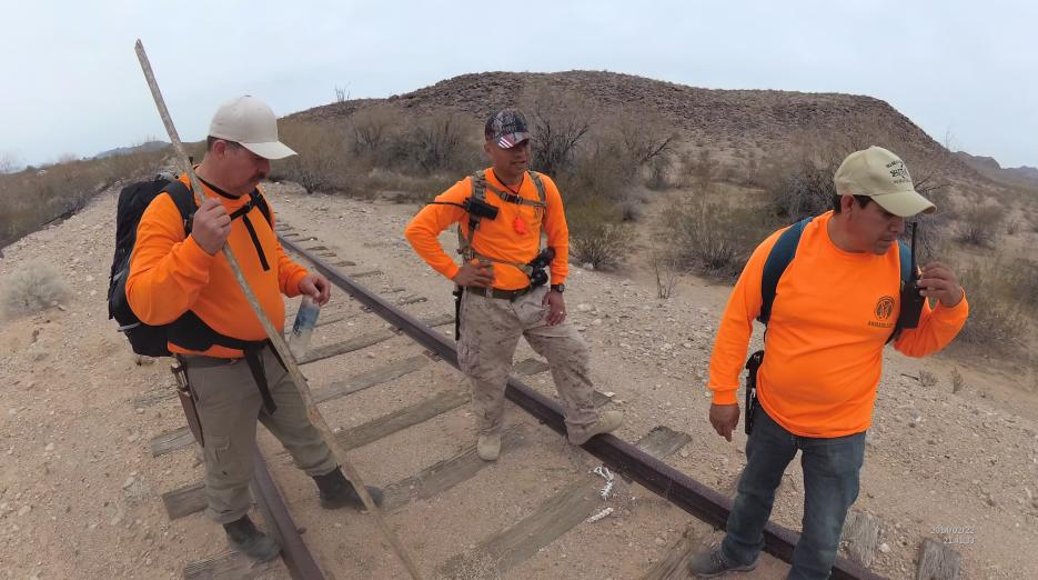 En fotos: Los Armadillos un grupo de búsqueda y rescate de migrantes en...