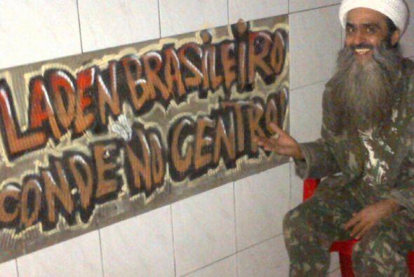 Su parecido físico con el terrorista lo llevó a crear este lugar en Sao...