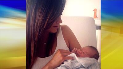 Satcha compartió una foto de su bebé