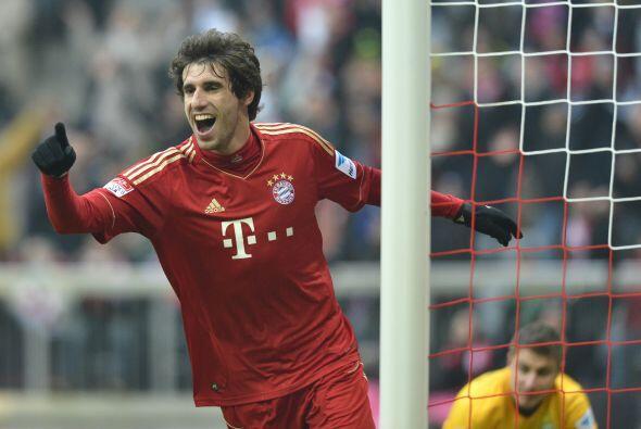Un español con nivel de selección, pero jugando en Alemania, es Javi Mar...