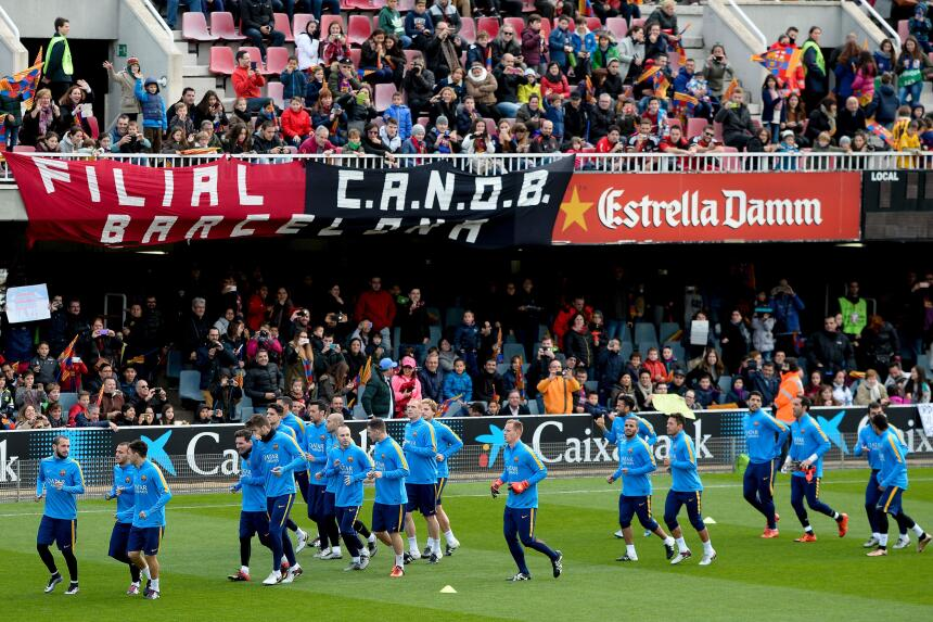 """Barcelona festeja a los """"Reyes Magos"""""""
