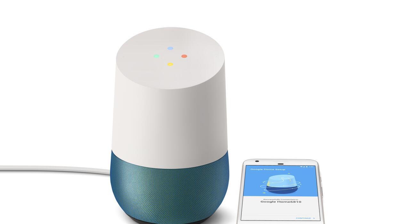 El Google Home se puede ordenar ahora y estará disponible en noviembre.