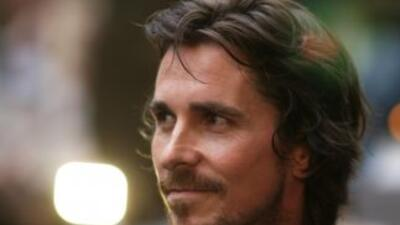 Christian Bale, protagonista de la cinta Batman, El Caballero de la Noch...