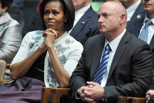 Kelly es un astronauta en la NASA. Obama dijo que tras una breve visita...