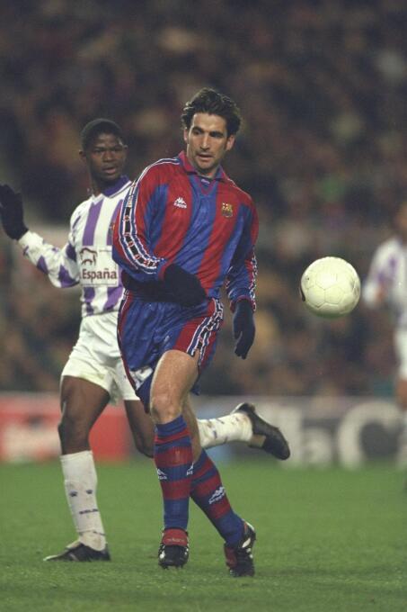 Juan Antonio Pizzi también marcó su primer gol en aquel partido, que tam...