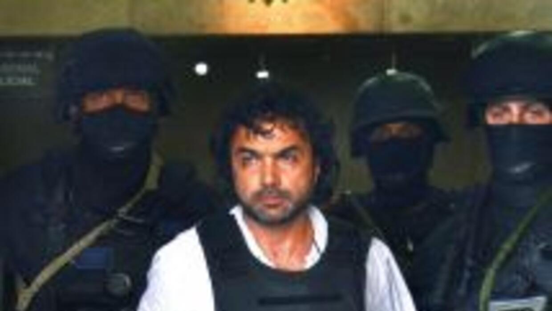 El colombiano Henry de Jesús López Londoño, uno de los narcotraficantes...