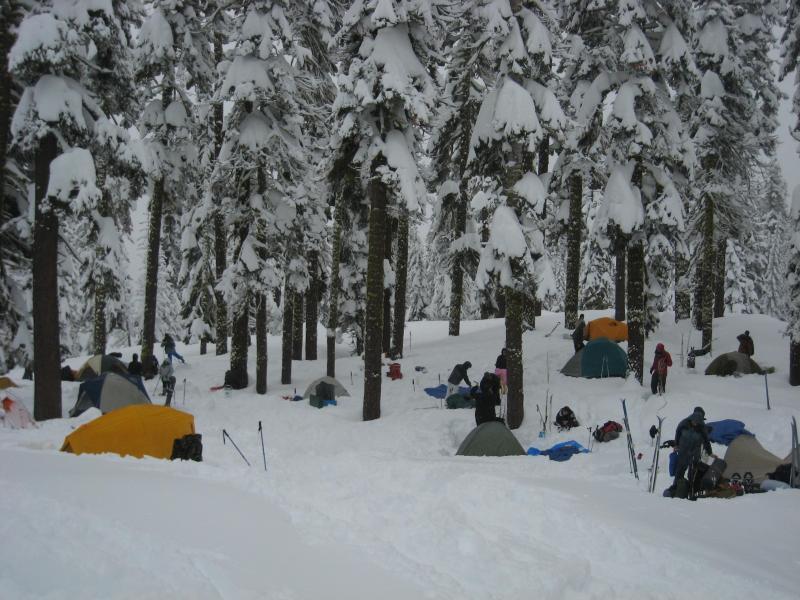 Así se ve el invierno en los parques nacionales de Estados Unidos LASSEN...