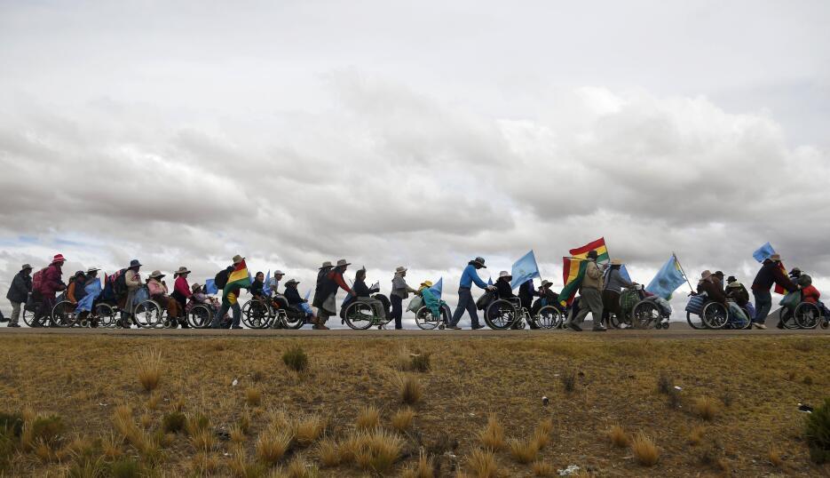 Marcha a La Paz