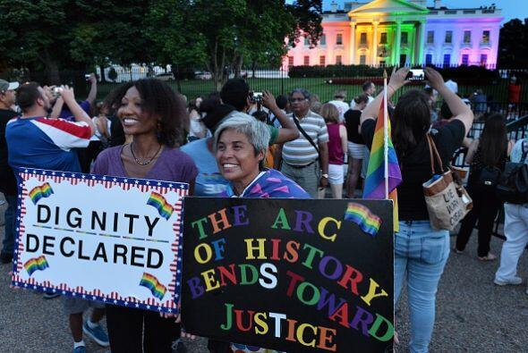 De este modo celebró el histórico fallo del Tribunal Supremo que legaliz...