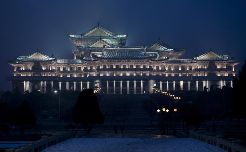 La gran biblioteca de Pyonyang