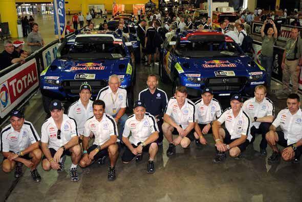El equipo de Volkswagen no podía faltar en este automotriz evento.