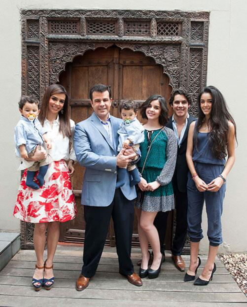 Bibi Gaytán y duardo Capetillo hijos