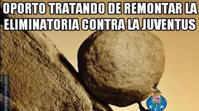 La Juventus le ganó fácilmente al Porto y los memes no se hicieron esperar