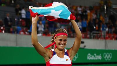 El día que Monica Puig se convirtió en un ícono de la hispanidad en el tenis femenino
