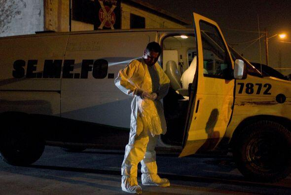 De acuerdo a informes policiales, en ambos ataques se utilizaron granada...