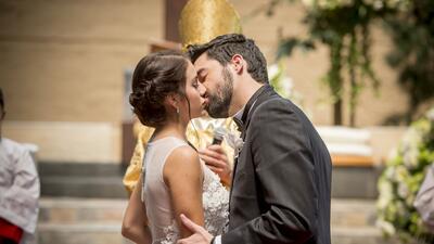 Detrás de cámaras boda Maia y Federico