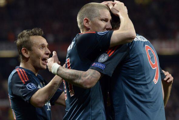 El Bayern se quitaba la presión del marcador adverso.