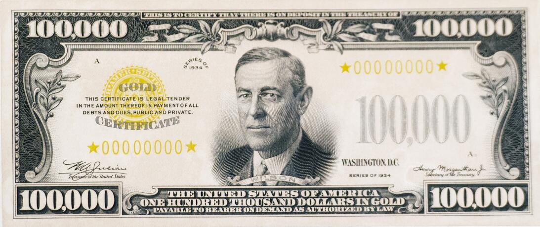 Es cierto: existen 42,000 billetes de US$100,000, y el hombre escogido p...