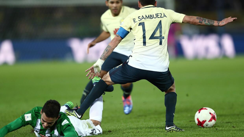 Las Águilas perdieron en los penales ante el cuadro colombiano,...
