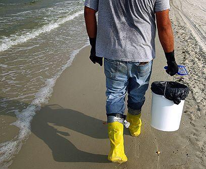 Frenaron el derrame... El jueves 16 de julio British Petroleum asegur&oa...