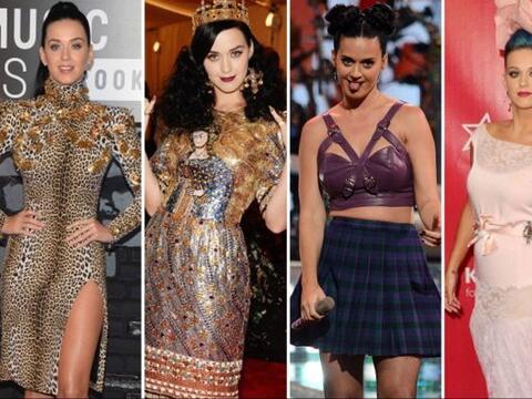 ¡Los drásticos cambios de 'look' de Katy Perry cada vez van...