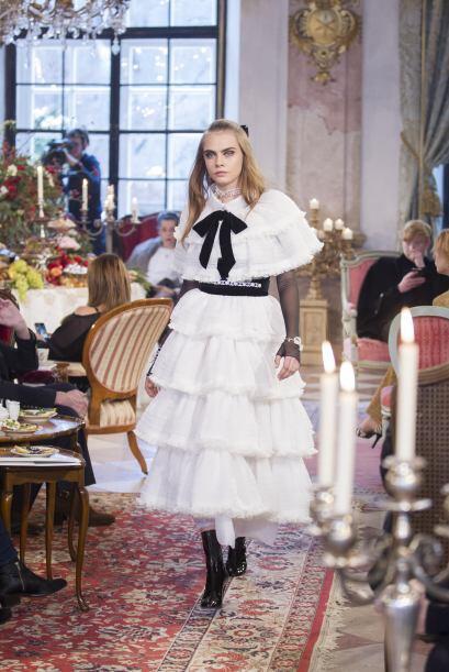 Pero hay que aceptarlo, parece que Cara le robó el vestidito a Annabelle.