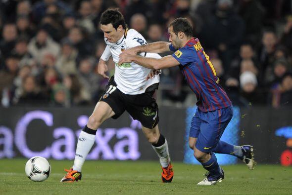 Aduriz y otros delanteros del Valencia no aprovecharon las opciones en s...
