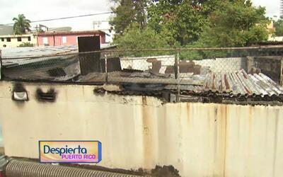 Se registra un incendio en una residencia en Hato Rey