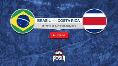 EN VIVO | Brasil y Neymar saltan a la cancha ante una Costa Rica que busca la sorpresa