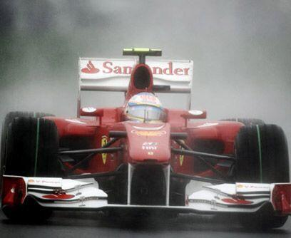 GP de COREA, 24 de octubreFernando Alonso aprovechó la torrencial lluvia...
