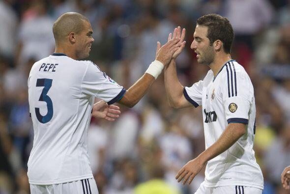 El 'Pipita' convirtió el 3-0 del Real Madrid.