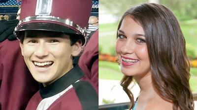 Los padres de Jaime Guttenberg y los de Alex Schachter, ambos de 14 años...