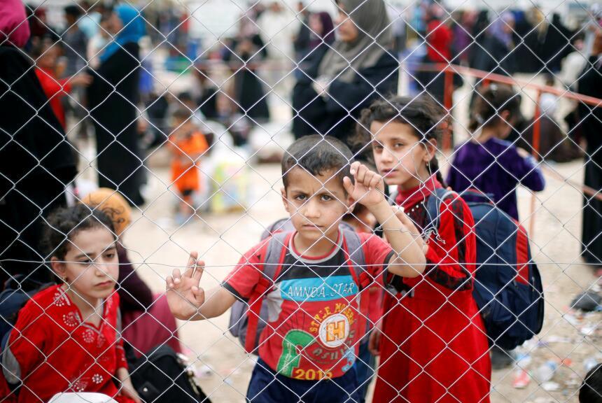 Resultado de imagen para niños iraquíes