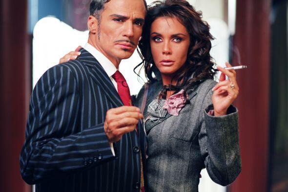 Aunque es una mujer casada siempre ha querido ser la dueña de Esteban.