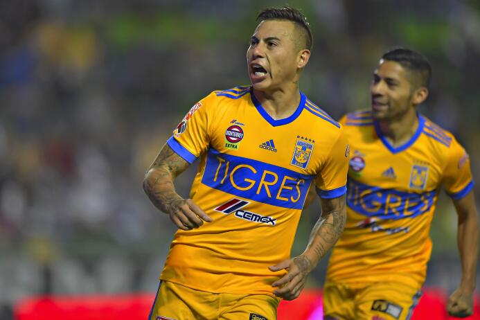Eduardo Vargas (Tigres / Chile) - 20 partidos jugados, 18 como titular.